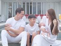 Hồ Ngọc Hà chia sẻ loạt khoảnh khắc Subeo bên Kim Lý nhìn không khác gì cha con ruột