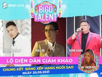 """Lộ diện dàn giám khảo ngồi """"ghế nóng"""" cuộc thi Bigo Talent 2021"""