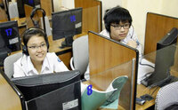 Từ 1/7/2023, thi đánh giá năng lực ngoại ngữ thực hiện hoàn toàn thi trên máy tính