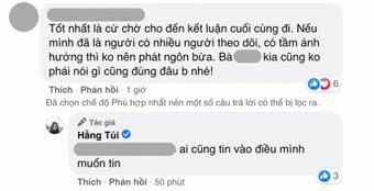 Hot mom Hằng Túi lại ẩn ý, úp mở lý do công khai hóa đơn chuyển khoản 80 triệu tiền từ thiện cho Thủy Tiên