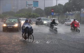 Từ ngày 19-28/9, các khu vực mưa dông kéo dài, đề phòng thời tiết nguy hiểm