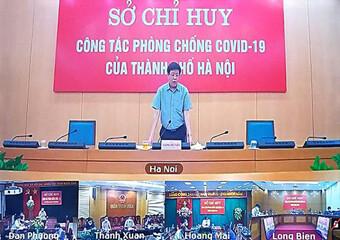 Phó Chủ tịch Hà Nội nói gì về việc nới lỏng giãn cách, chống dịch sau 21-9?