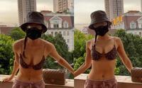 Phương Trinh Jolie và chồng sắp cưới khoe body cực cháy, xăm kín lưng