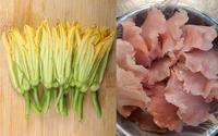 Món ăn từ bông bí ngon tuyệt cho bữa cơm chiều
