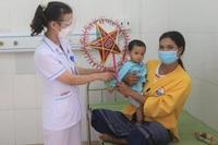 Mang trung thu đến thiếu nhi vùng phong tỏa, bệnh nhi điều trị ở bệnh viện