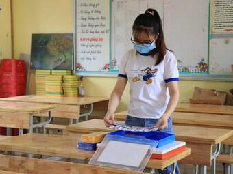 Bắc Ninh cho phép học sinh đến trường học tập từ ngày 24/9