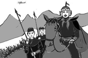 """Danh tướng thời chúa Nguyễn nào được ví như """"bức tường sắt"""""""