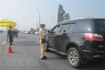 Kiểm soát chặt người, phương tiện ra, vào tại 22 chốt ở cửa ngõ Hà Nội