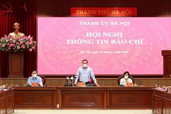Phó Bí thư Thành uỷ Hà Nội: Thành phố nới lỏng giãn cách trên tinh thần không cầu toàn, điều chỉnh linh hoạt