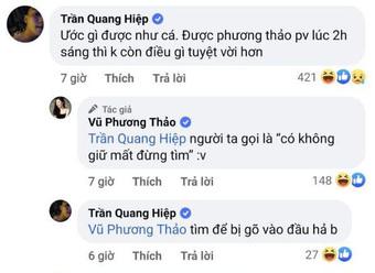 """Tranh thủ giữa buổi dẫn ĐTDV để đăng hình """"thả thính"""", MC Phương Thảo bị fan """"troll"""" tới bến"""