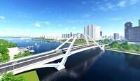 Dồn sức đẩy nhanh thi công hai cây cầu bắc qua sông Cần Thơ