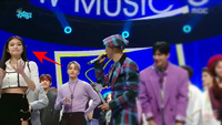 """Encore - nơi bắt đầu """"drama"""": RM (BTS) lố lăng tạo nét, thiên thần lai liếc xéo BLACKPINK rồi cả """"tình tay 3"""" đầy twist của Jennie"""