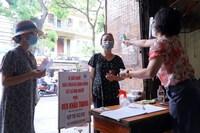 Hà Nội: Giá rau, thịt giảm nhẹ ngày đầu nới lỏng giãn cách xã hội