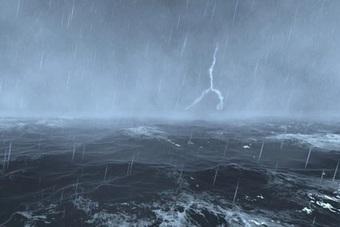 Xuất hiện vùng áp thấp trên Biển Đông gây mưa lớn ở miền Trung, Tây Nguyên.
