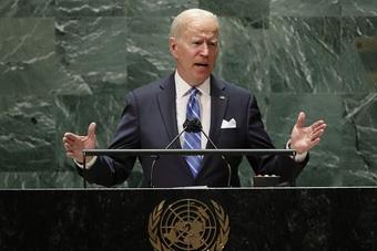 """Ông Biden tuyên bố chống """"nước mạnh chèn ép nước yếu"""""""