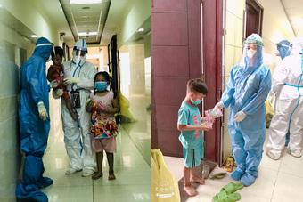 'Bao giờ thì ba mẹ mới về?' và tâm sự của bác sĩ về Trung thu 'đặc biệt' tại nơi điều trị bệnh nhân COVID-19