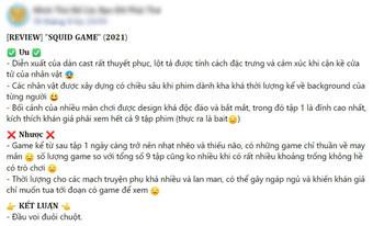 """Netizen """"chiến nhau"""" tanh bành vì Squid Game: Người khen hay nức nở, kẻ chê bai thảm họa"""