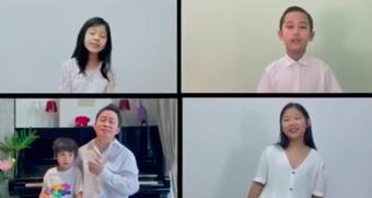 Thanh Lam, Tùng Dương gửi lời cám ơn đầy ý nghĩa đến các bác sĩ trong đêm Trung thu
