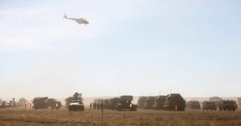 """Số lượng """"khủng"""" pháo và tên lửa sẽ xuất hiện tại bãi thử Donguz"""