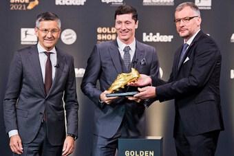 CHÍNH THỨC! Lewandowski nhận giải Chiếc giày vàng châu Âu