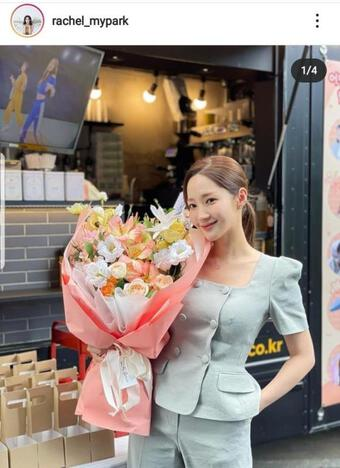 ''Thư ký Kim'' Park Min Young chơi set đồ hàng chục triệu đồng nhưng lại bị mất điểm vì chi tiết này