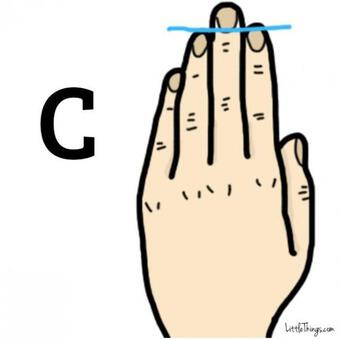 Đoán tính cách mỗi người dựa trên độ dài các ngón tay