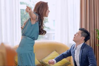 Chồng hoạnh họe vô lý còn tuyên bố 'lấy chồng giàu phải biết im'