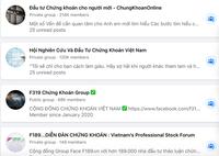 Một loạt nhóm chứng khoán hàng trăm ngàn thành viên bị ''xóa sổ'' trên Facebook