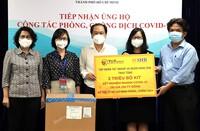 T&T Group và SHB tặng TPHCM 2 triệu bộ kit xét nghiệm nhanh COVID-19