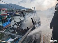 Đà Nẵng còn 6 tàu cá với 49 lao động nằm trong vùng nguy hiểm