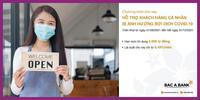 Bắc Á Bank ưu đãi cho vay hỗ trợ khách hàng cá nhân ảnh hưởng bởi dịch COVID-19