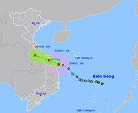 Bão số 6 quần thảo vùng biển Quảng Trị-Quãng Ngãi, mưa to, gió giật nhiều nơi