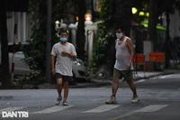 Người dân Hà Nội đã được phép tập thể dục ngoài trời?