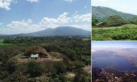 Phát hiện kim tự tháp khổng lồ xây dựng từ đá do núi lửa phun trào ra