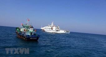Các cơ quan chức năng Việt Nam luôn theo dõi sát diễn biến ở Biển Đông