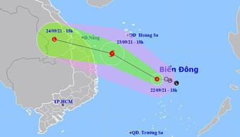 Áp thấp nhiệt đới có thể mạnh lên thành bão, mức độ nguy hiểm cao, di chuyển rất nhanh