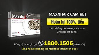Maxxhair phiên bản mới: Bổ sung Polyaktiv giúp tóc mọc nhanh