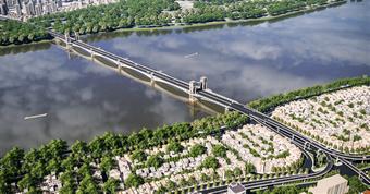 Soi phương án kiến trúc gây tranh cãi của cầu Trần Hưng Đạo
