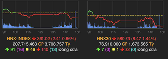 VN-Index tăng nhẹ 2 điểm, cổ phiếu penny bị chốt lời mạnh