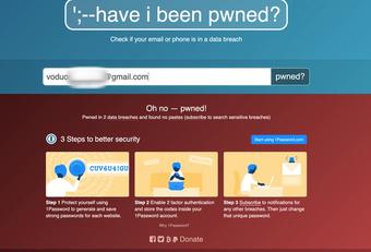 2 cách để kiểm tra xem bạn có bị lộ thông tin cá nhân trên Internet hay không?