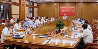 Ban hành Quy định về chức năng, quyền hạn của BCĐ Trung ương về phòng, chống tham nhũng, tiêu cực