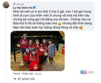 Rộ tin Lý Hải - Minh Hà bí mật sinh nhóc tì thứ 5, chính chủ nói gì?