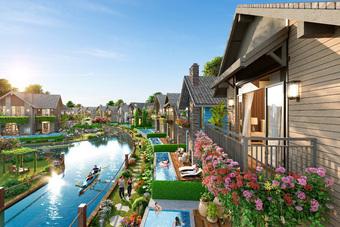 Khám phá làng biệt thự Lagoon đẹp như cổ tích tại The Tropicana - NovaWorld Ho Tram