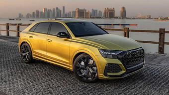Hàng thửa Audi RS Q8 Qatar Edition về tay đại gia Trung Đông