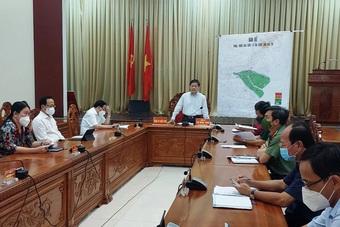 """Phó Thủ tướng: Ổn định """"vùng xanh"""", Bến Tre là hậu cứ giúp khu vực và TPHCM"""