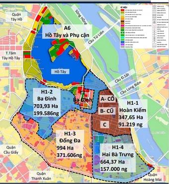 Lộ diện những trung tâm BĐS mới tại Hà Nội đón làn sóng đại dịch chuyển dân cư lớn nhất lịch sử