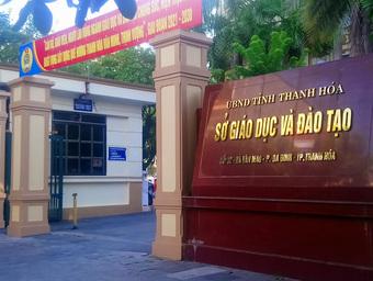Nguyên giám đốc Sở Giáo dục - đào tạo Thanh Hóa bị đình chỉ sinh hoạt Đảng