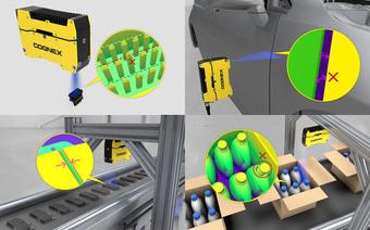 Cognex giới thiệu hệ thống xử lý ảnh In-Sight® 3D-L4000