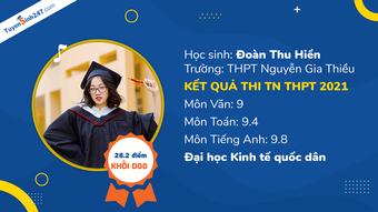 Bí quyết điểm cao TN THPT và đỗ ĐH tốp đầu từ siêu trí tuệ Tuyensinh247.com