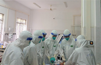 Tiền Giang: 2 bệnh nhân COVID-19 từng nguy kịch được xuất viện